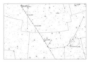 C/2019 Y4 Atlas carte début mai