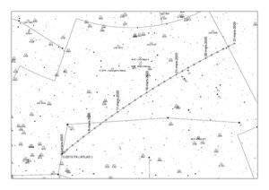C/2019 Y4 Atlas carte mars