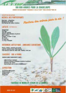 100 000 arbres pour la Guadeloupe