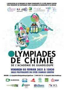 Affiche Olympiades de chimie 2021